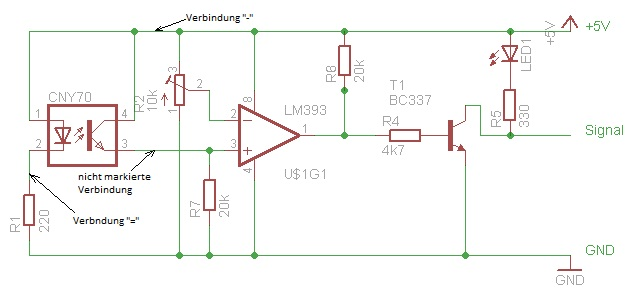 Reflexkoppler an 1wire-counter anbinden - Stromzähler auslesen