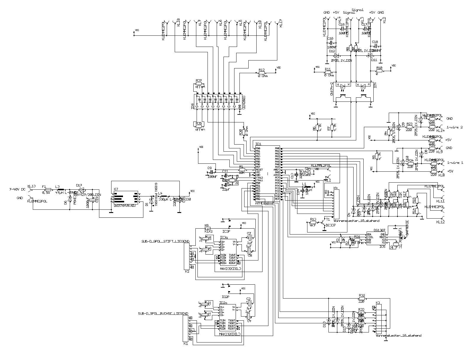Mikroprozessor an Bord
